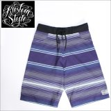 20%OFF 【送料無料】KustomStyle SERAPE BOARD SHORTS -NAVY-(カスタムスタイル)