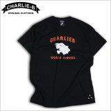 CharlieB チャーリービー Panther Tシャツ BLACK