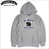 【50%OFF】CharlieB チャーリービー Panter P/Oパーカー GRAY
