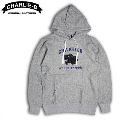画像1: 【50%OFF】CharlieB チャーリービー Panter P/Oパーカー GRAY