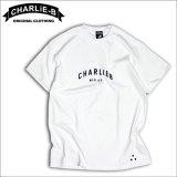 CharlieB チャーリービー 17Logo Tシャツ WHITE