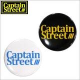 CAPTAIN STREET OG LOGO 缶バッチ 2カラー キャプテンストリート