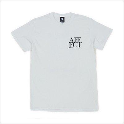 画像2: AFFECTER アフェクター AFE S/S Tシャツ WHITE