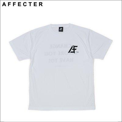 画像1: AFFECTER アフェクター TM DRY S/S Tシャツ WHITE