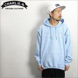 【送料無料】 CharlieB チャーリービー EMB P/Oパーカー L.BLUE