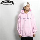 【送料無料】 CharlieB チャーリービー EMB P/Oパーカー L.PINK