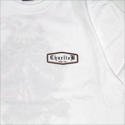 画像5:  CharlieB チャーリービー Eagle II Tシャツ WHITE
