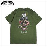 CharlieB チャーリービー Eagle II Tシャツ MILITARY GREEN