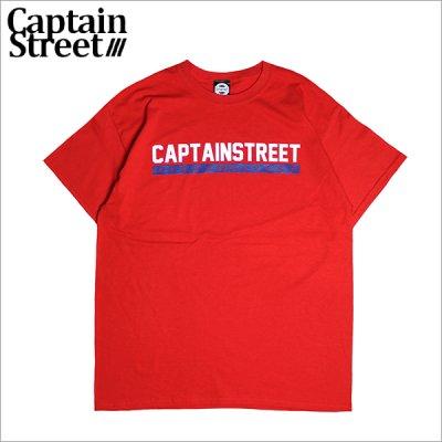 画像1: CAPTAIN STREET CVLS Tシャツ RED キャプテンストリート