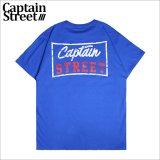 CAPTAIN STREET Sign Tシャツ BLUE キャプテンストリート
