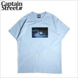 CAPTAIN STREET KNK Tシャツ L.BLUE キャプテンストリート