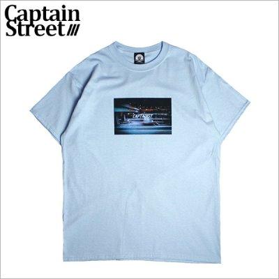 画像1: CAPTAIN STREET KNK Tシャツ L.BLUE キャプテンストリート