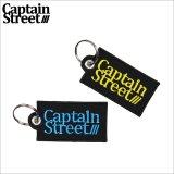 CAPTAIN STREET OG Logo ワッペンキーホルダー 2カラー キャプテンストリート