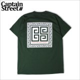 CAPTAIN STREET Paisley RMN Tシャツ GREEN キャプテンストリート
