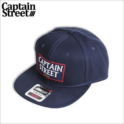画像1: CAPTAIN STREET Emblem スナップバックCAP NAVY キャプテンストリート