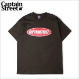 CAPTAIN STREET Lost Tシャツ BROWN キャプテンストリート