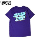 CAPTAIN STREET TDK Logo Tシャツ PURPLE キャプテンストリート