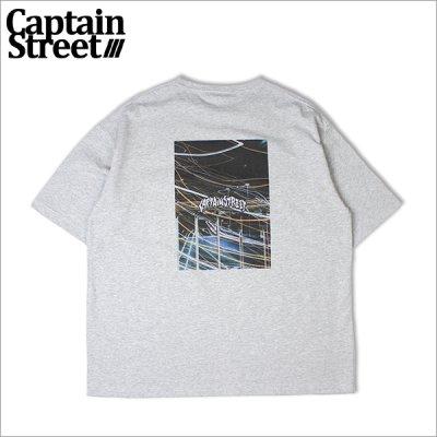 画像1: CAPTAIN STREET City Lights BIGポケットTシャツ GRAY キャプテンストリート