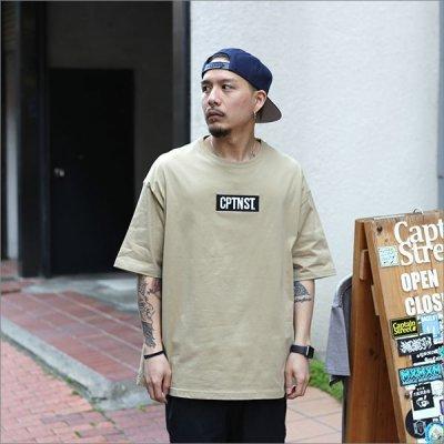画像2: CAPTAIN STREET Box Logo BIG Tシャツ SAND キャプテンストリート