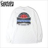 CAPTAIN STREET US L/S Tシャツ WHITE キャプテンストリート