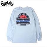 CAPTAIN STREET US L/S Tシャツ L.BLUE キャプテンストリート