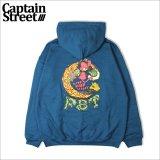 【送料無料】CAPTAIN STREET SK8 CATKUN P/Oパーカー LEGION BLUE キャプテンストリート