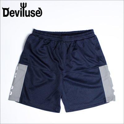 画像1: Deviluse デビルユース DU-99 メッシュショーツ NAVY