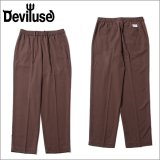 【送料無料】Deviluse デビルユース Slacks パンツ BROWN