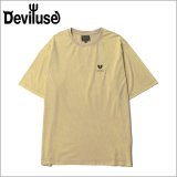 Deviluse デビルユース Heartaches Stone Wash Tシャツ SAND