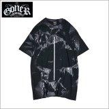 GoneR ゴナー Tie-dye Line Tシャツ BLACK