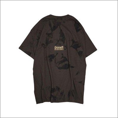 画像2: GoneR ゴナー Tie-dye Line Tシャツ D.CHOCOLATE