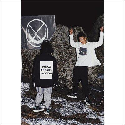 画像1: 【送料無料】isxnot イズノット HFM L/Sシャツ 2カラー
