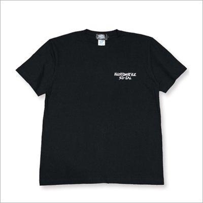 画像3: KustomStyle カスタムスタイル SKATE MONKEY Tシャツ BLACK