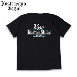 KustomStyle カスタムスタイル THE WAY WE ARE Tシャツ BLACK