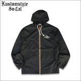 【送料無料】KustomStyle カスタムスタイル THE WAY WE ARE HOODED ZIPUP JKT BLACK