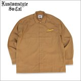 【送料無料】CHEYENNE by KUSTOMSTYLE CHEYENNE ICON L/Sシャツ MUSTARD