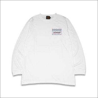 画像2: KustomStyle カスタムスタイル PALMS L/S Tシャツ WHITE