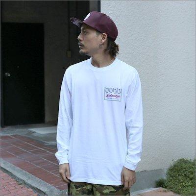 画像3: KustomStyle カスタムスタイル PALMS L/S Tシャツ WHITE