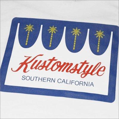 画像4: KustomStyle カスタムスタイル PALMS L/S Tシャツ WHITE