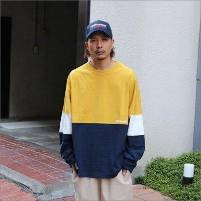 画像3: 【送料無料】KustomStyle カスタムスタイル ORIGINALS L/S Tシャツ MUSTARD