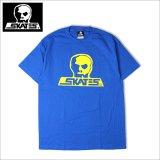 SKULL SKATES スカルスケーツ GT Tシャツ BLUE