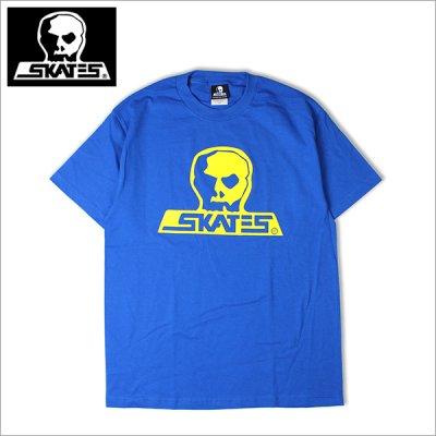 画像1: SKULL SKATES スカルスケーツ GT Tシャツ BLUE