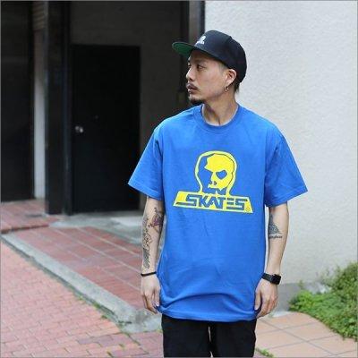 画像2: SKULL SKATES スカルスケーツ GT Tシャツ BLUE