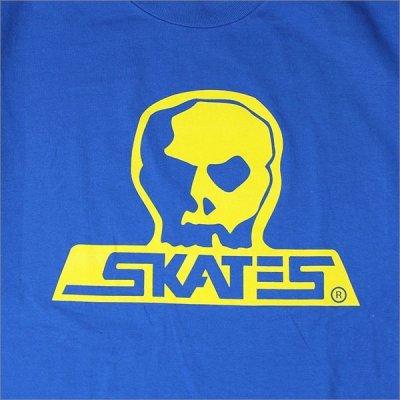 画像3: SKULL SKATES スカルスケーツ GT Tシャツ BLUE